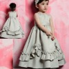 Scoop Neckline Ball Gown Cute Girls Party Dresses Long