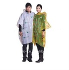 disposable pe raincoat promotional