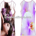 2012 Fashion Custom Casual Dress with Dye Sublimation Printing