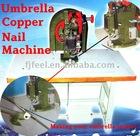 Semi-auto Umbrella eyelet making machine,rivet machine