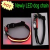 High brightness 2012 newly LED dog collar for promotional market
