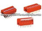 mini Red DIP SWITCH CGC 8 pin dip switch