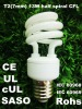 Xiamen CFL bulb T2 7mm 13W ESL lamp