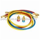 1/4'' SAE Charging Hoses with valve For All Refrigerants (PR3002)