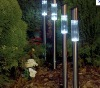 Stainless Solar Post Light