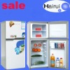 118L Top freezer double door refrigerator