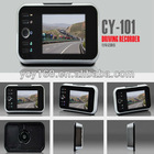 3.5 inch HD 720P with sound-controlled recording and photograph automatic video viewer door bell