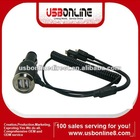 New Micro USB 5 Pin to Dual 2 USB Port Car Charger 5V 3.1A for Amazon Kindle Fire/Nook Color/ Nook Tablet/ HP Touchpad
