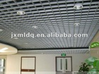 Aluminum exposed grid ceiling