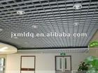 Aluminum exposed grid ceiling