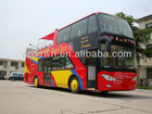 Modern luxury design! New double deck open top city tour bus