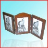 Folding personality wooden photo frame,wooden photo frame