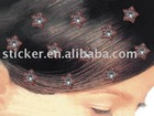 Hair stickers of star shape
