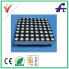 Red 8x8 dot matrix led display module with high brightness