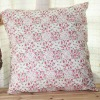 Fashion Traditional Light Red Small Flower Printed Cushion/Pillow