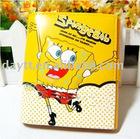 Wholesale gao hot sale cute sponge bob wallet Coin purse F0261
