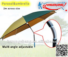 portable parasol 2 meters across size
