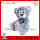 soft teddy bear doll,plush stuffed toys bear for kid