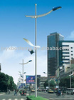 high quality and low price road light steel poles