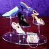 Acrylic Shoe Display Rack