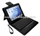 Good quality for ipad bluetooth keyboard leather case
