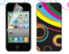 colorful sticker skin for iphone 4