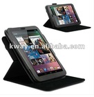 HOT! 360 degree rotating Smart cover case for Google Nexus 7 rotation leather case KSH067