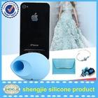 egg shape rubber loud speaker for iphone