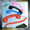 2012 Anti-radiation corded mobile phone handset extention for iPhone,iPad and all cell with 3.5mm jack