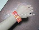 Ultra Stretch-resistant PVC 125 KHz/ 13.56 MHz Passive Event RFID Wristbands Bracelets