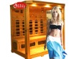 dry infrared sauna room