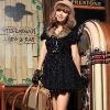 short sleeve fashion coat 1761#