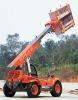 telescopic boom forklift truck