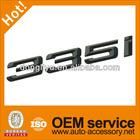 Glossy black 335i 325i 328c car emblem letters