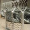 Hot Galvanized Razor Barbed Wire in Alibaba