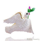 Cute pigeon alloy brooch fashion brooch/peace brooch wholesale
