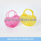 New design clear pvc candy bag for promotion XYL-H370