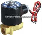 Brass 2 Way 2 Position Direct Acting Electric Solenoid Water Valve