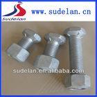 Fasteners grade8.8 special hex head types of nuts bolts