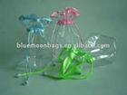 PVC transperant drawstring bag