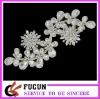 fashion design glass beaded appliques