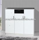 H610# modern wood shoe cabinet