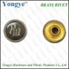 Bag accessory rivet