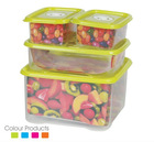 one set square insulated food plastic container/storage box