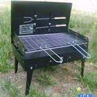 Adjustable Height, Easily Assembled BBQ stove