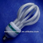 4U Lotus energy saving LED light CFL light