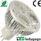 High lumen mr16 led spots with Epistar chip