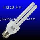 D12mm/2U/18W/6400K/E27 energy saving bulb
