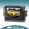 5 Inch TFT LCD color digital backup car monitor with touch button