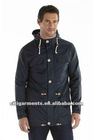 2012latest fashion(ln221-CM)Hooded Jacket With Draw Cord Waist And Hem